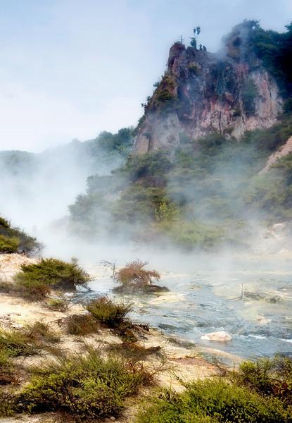 New Zealand, Waimangu Volcanic Valley